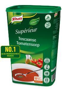 Knorr Sup Toscaanse Tomatensoep 1.2Kg 6X (6 × 1.2kg)