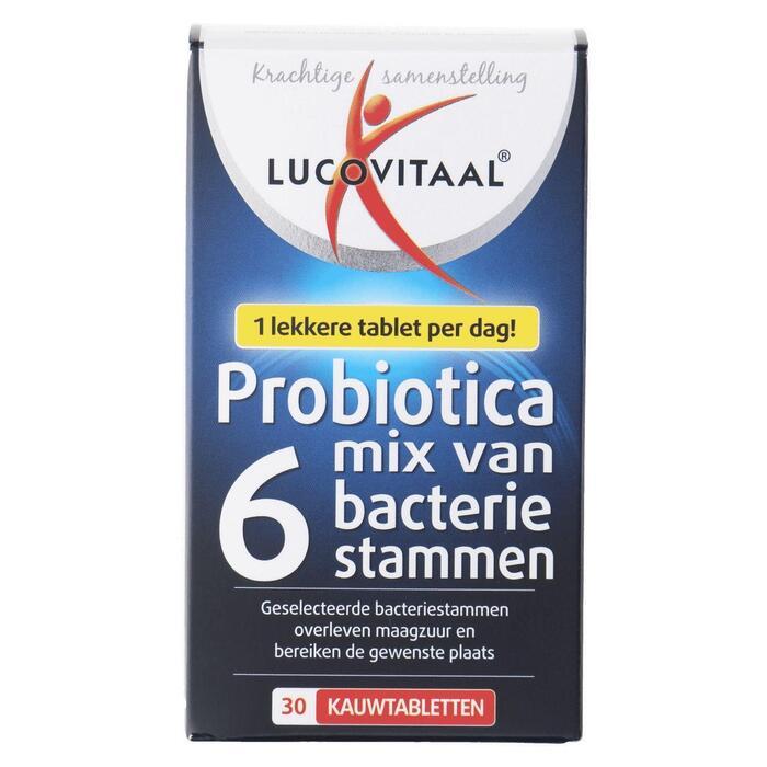 Lucovitaal Probiotica kauwtabletten 30 stuks (45g)