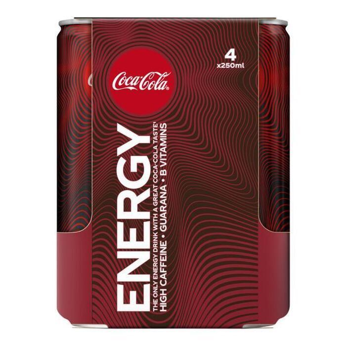 Coca-Cola Energy 4-pack (4 × 1L)