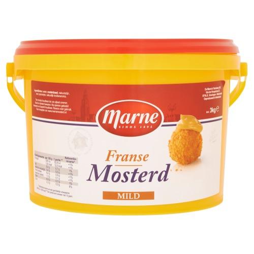 Marne Franse Mosterd Mild 3kg emmer (3kg)