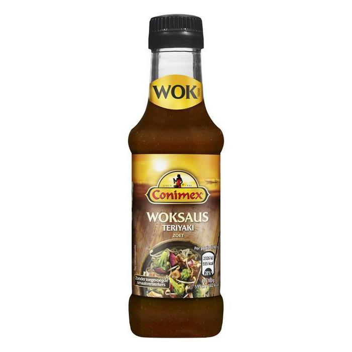 Conimex Woksaus Teriyaki Honing (175ml)