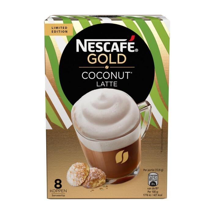 Gold Coconut Late (8 × 111g)