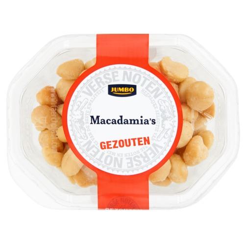 Jumbo Macadamia's Gezouten 140g (140g)