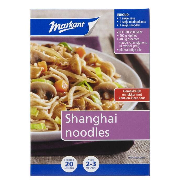 Shanghai noodles volgens Oosters recept (288g)