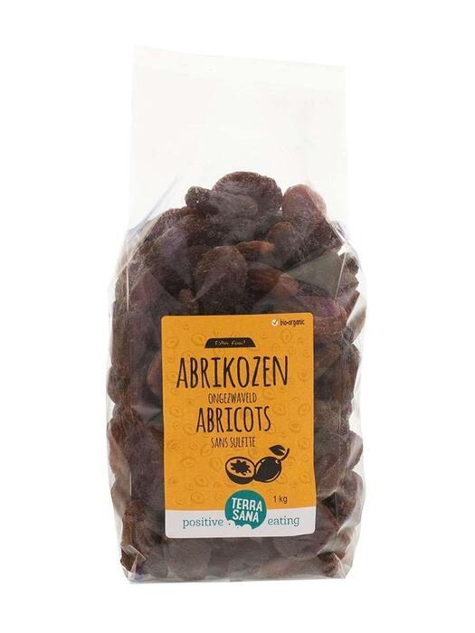 RAW Abrikozen -voordeelpak- TerraSana 1kg (1kg)