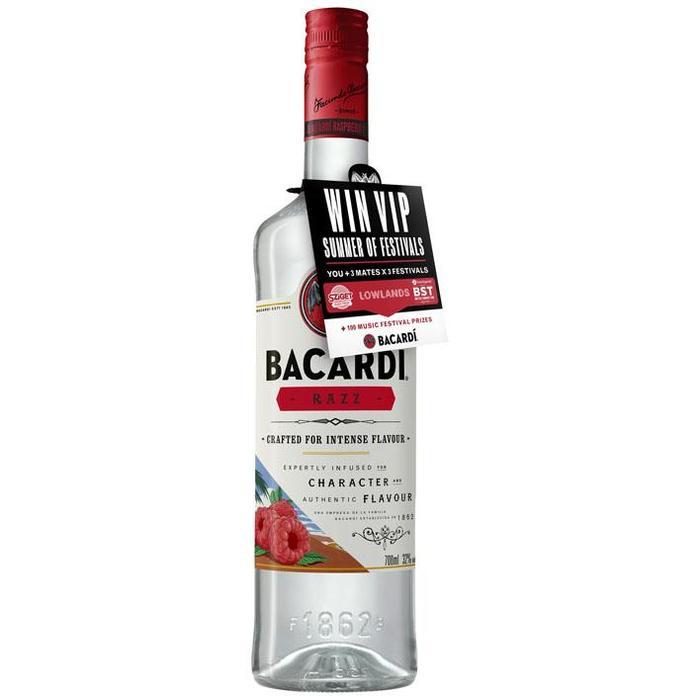 Bacardi Razz (rol, 70 × 0.7L)