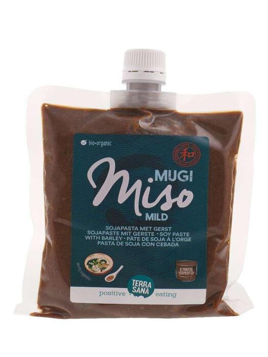 Mugi miso (gerst) met schroefdopje TerraSana 345g (345g)