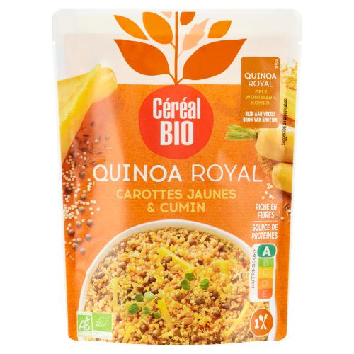 Céréal Bio Quinoa Royal Gele Wortelen & Komijn 220 g (220g)