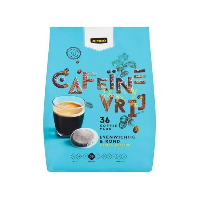 Jumbo Cafeïnevrij 36 Koffiepads 250 g (250g)