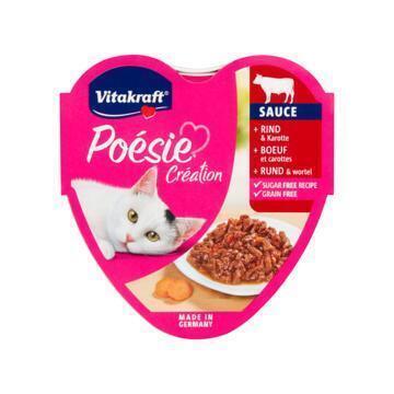 Vitakraft Poésie Sauce Rund & Wortel 85g (85g)