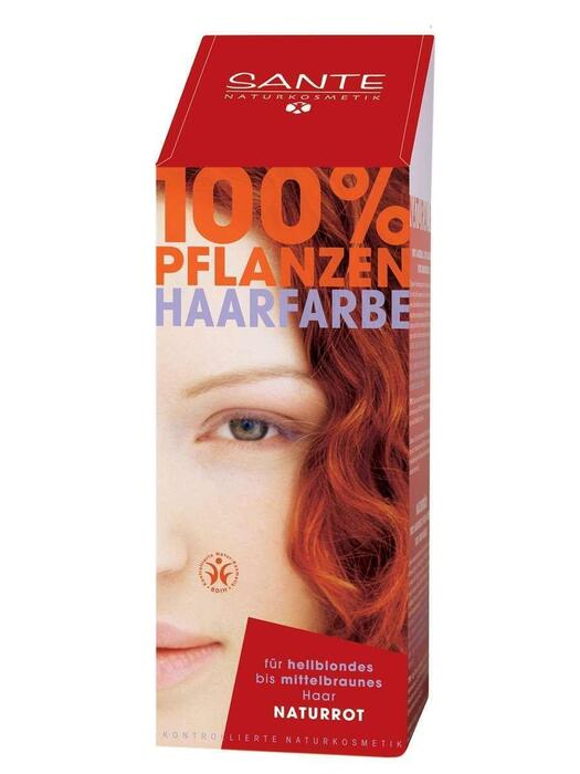 Haarkleuring Natuurrood/Naturrot SANTE 100g (100g)