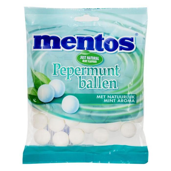 Mentos Pepermunt ballen (200g)