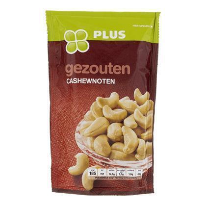 Cashewnoten gezouten (150g)