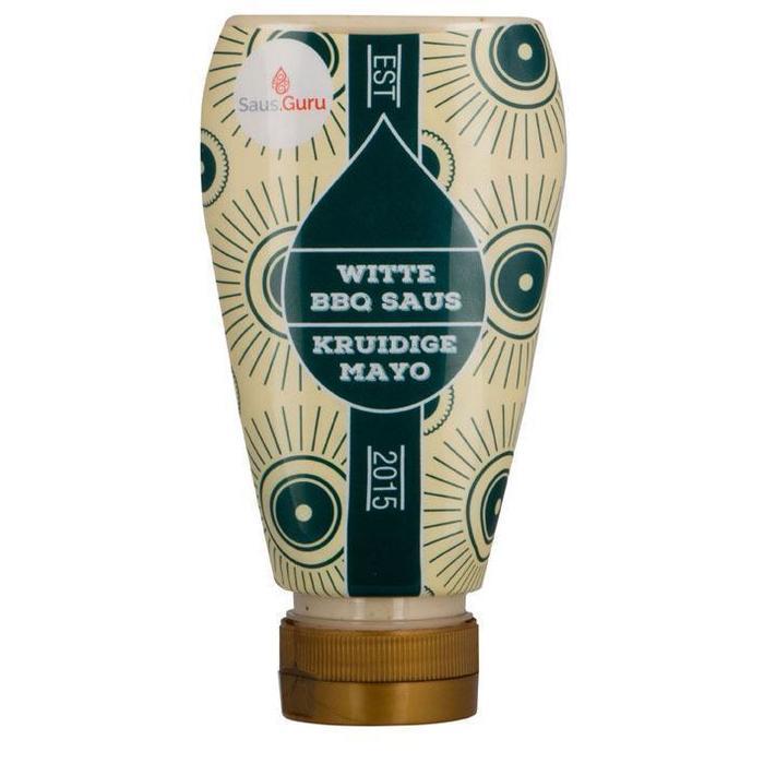 Saus Guru Witte BBQ saus - kruidige mayo (245ml)
