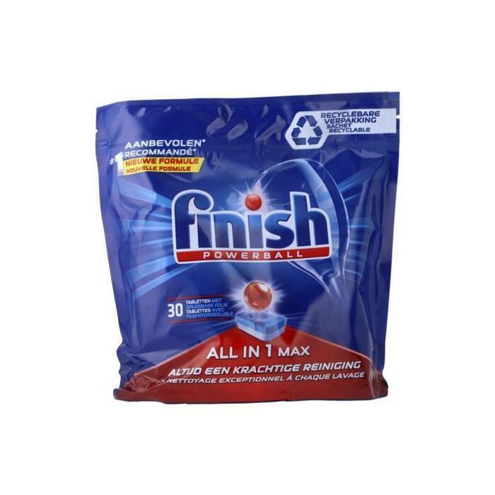 Finish All in one regular (30 × 480g)