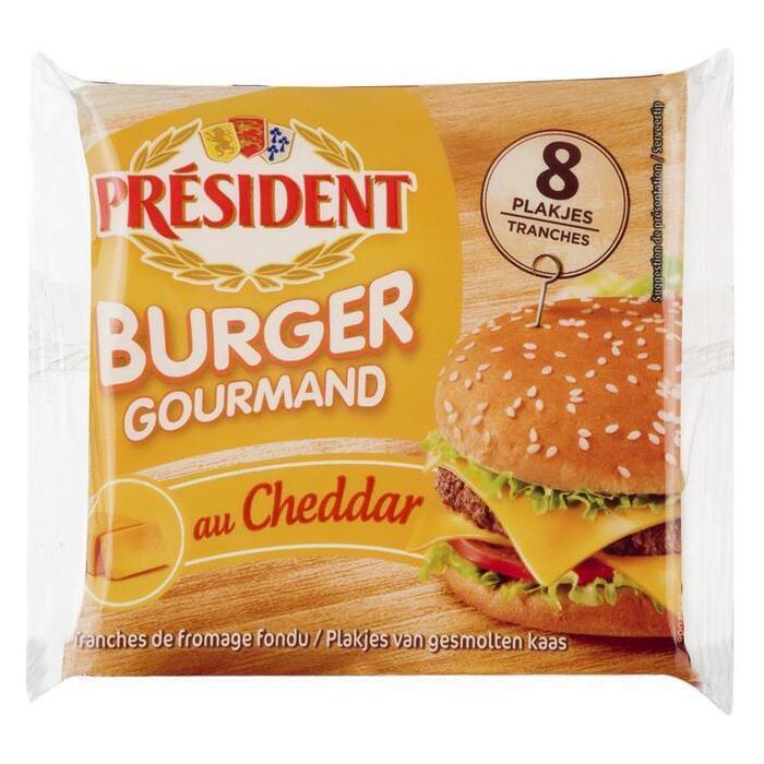 Président Burger cheddar (150g)