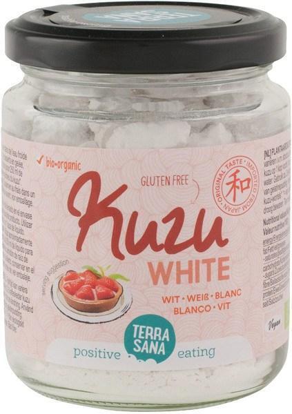 Kuzu wit (doorzichtig bindmiddel) (in glas) TerraSana 125g (125g)