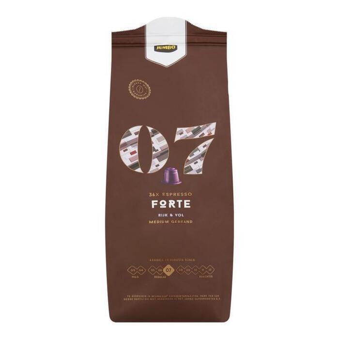 Jumbo 07 Espresso Forte 36 Stuks 187,2 g (187g)