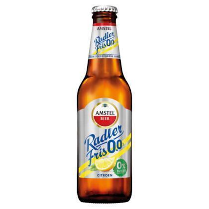 Amstel Radler Fris 0.0 Bier Fles 30 cl (rol, 30 × 30cl)