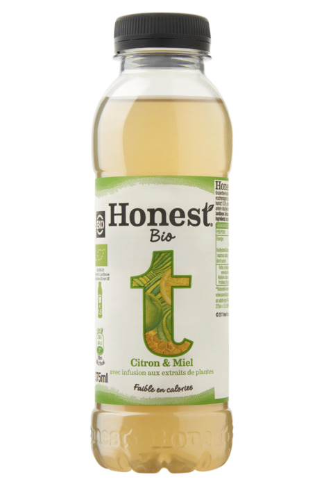Honest Iced tea honing & citroen (37.5cl)