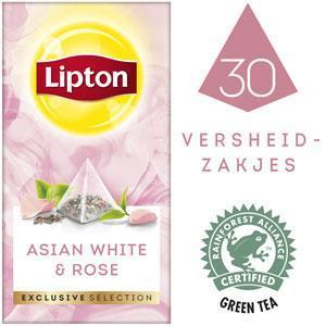 Lipton Excl Select Wit Rozen 30S 6x (bak, 30 × 48g)