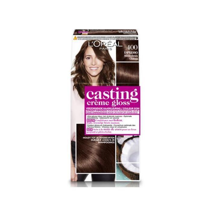 L'Oréal Casting crème gloss middenbruin 400 (160ml)