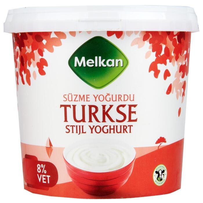 Yoghurt Turkse stijl 8% vet (1kg)