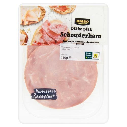 Dikke Plak Schouderham (150g)