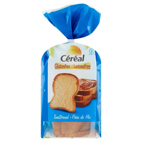 Céréal Glutenfree & Lactosefree Toastbrood 350 g (350g)