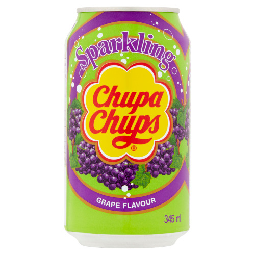 Chupa Chups Sparkling Grape Flavour 345 ml (34.5cl)