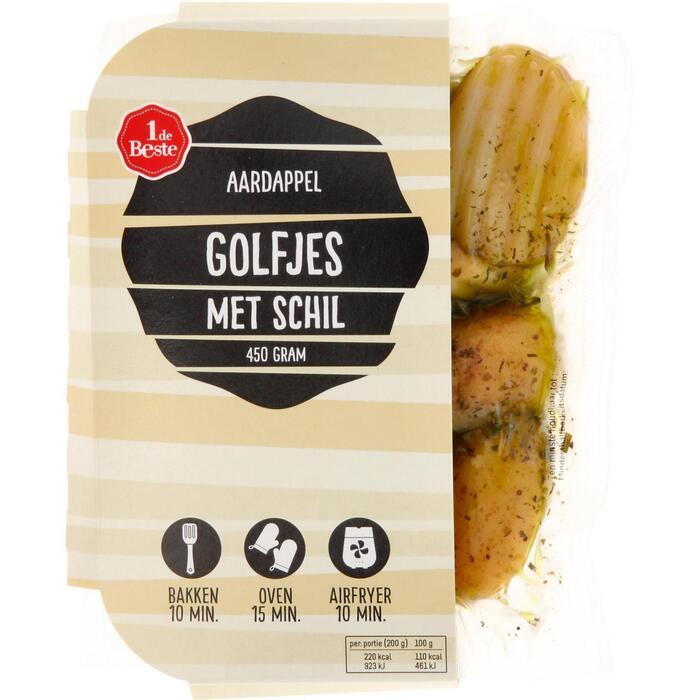 Aardappelgolfjes met schil (450g)