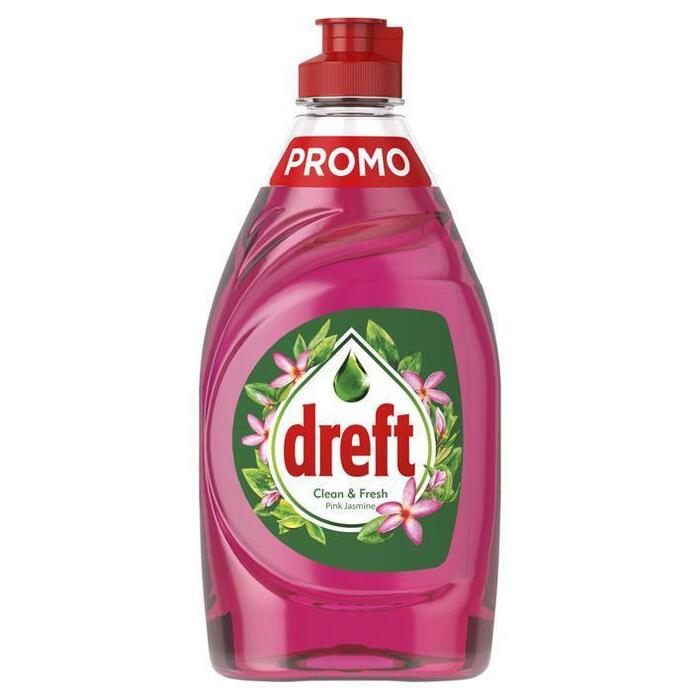 Dreft Clean & Fresh Afwasmiddel Pink Jasmine 340 ml (34cl)