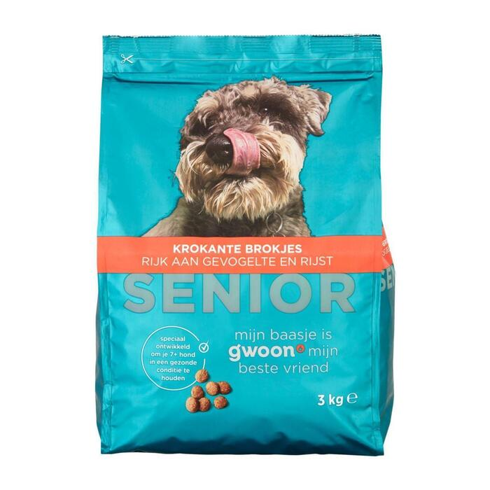 g'woon Brok premium senior hond (3kg)