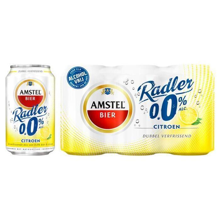 Amstel 0.0% Radler (rol, 6 × 33cl)