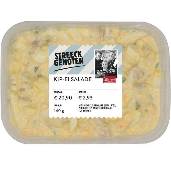 Streeckgenoten Westlandse kip-ei salade (140g)
