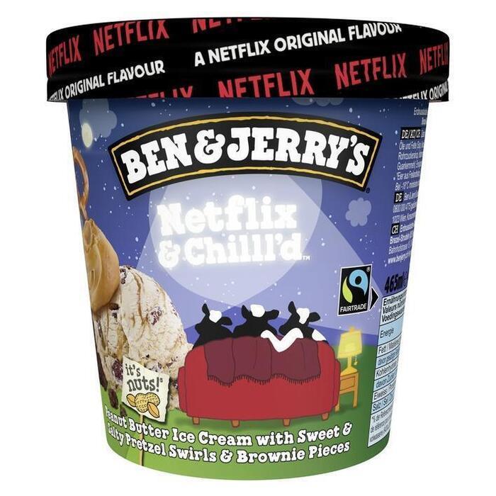 Ben&Jerry's Netflix & chill'd (46.5cl)
