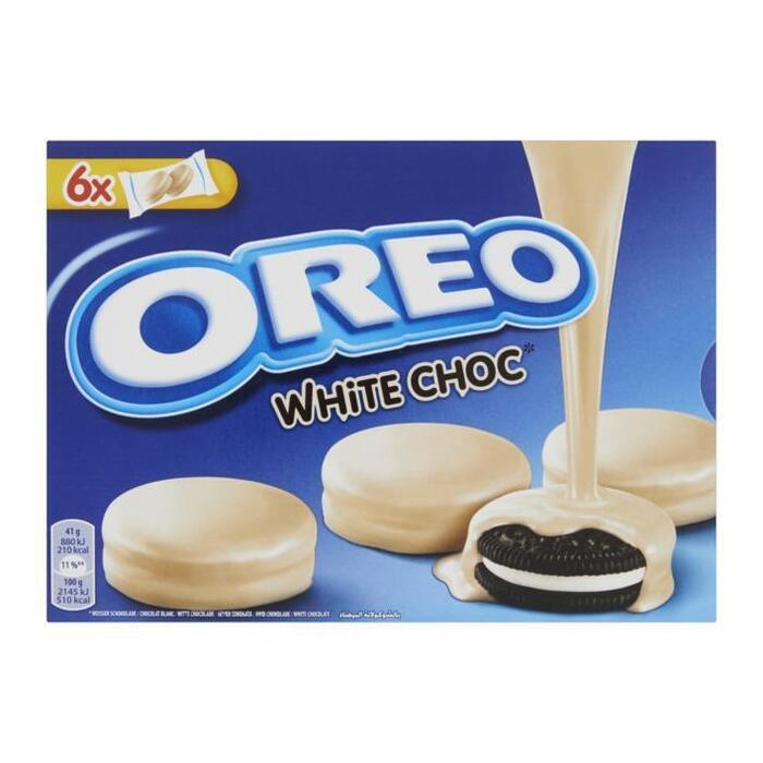 Oreo Biscuits omhuld met witte chocolade