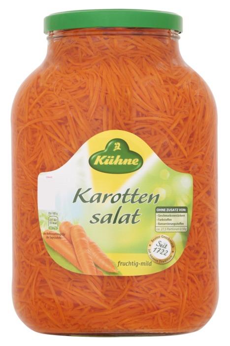 Kühne Wortel Salade 2450 g (2.45kg)