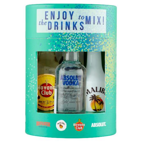 Enjoy the Drinks to Mix 4 x 50ML (4 × 50ml)