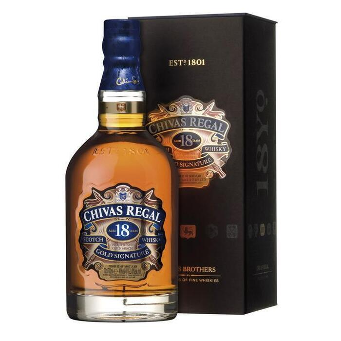Chivas Regal Gold signature Scotch whisky 18 years (rol, 70 × 0.7L)