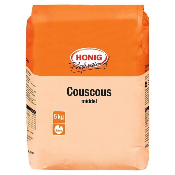 Honig Professional Couscous Middel 5 kg Zak (5kg)