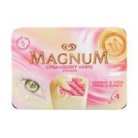 Magnum Strawberry & White (4 × 44cl)