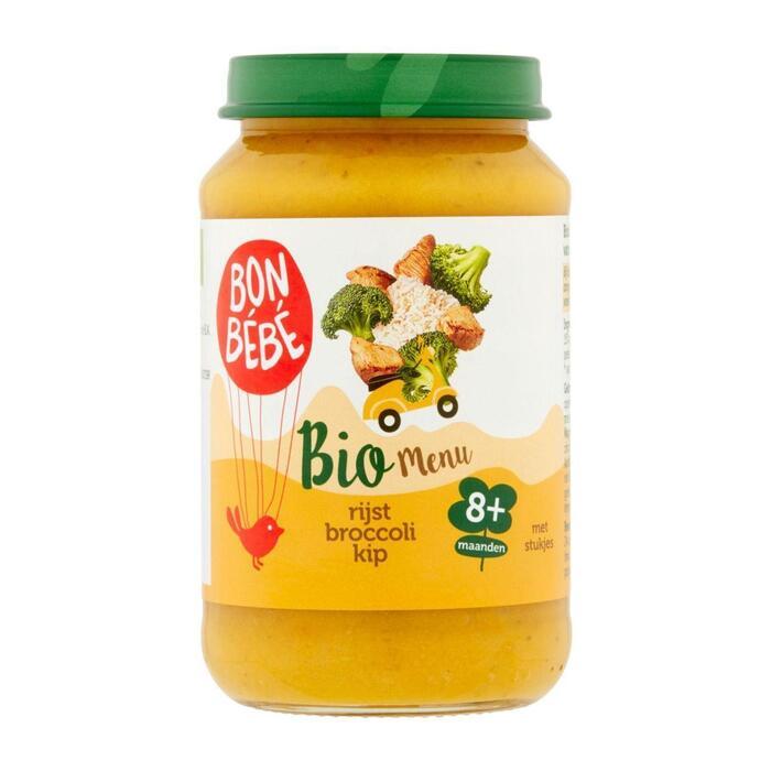 M0807 rijst-broccoli-kip (190g)