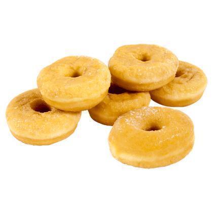 PLUS Mini gesuikerde donuts (blister, 132g)