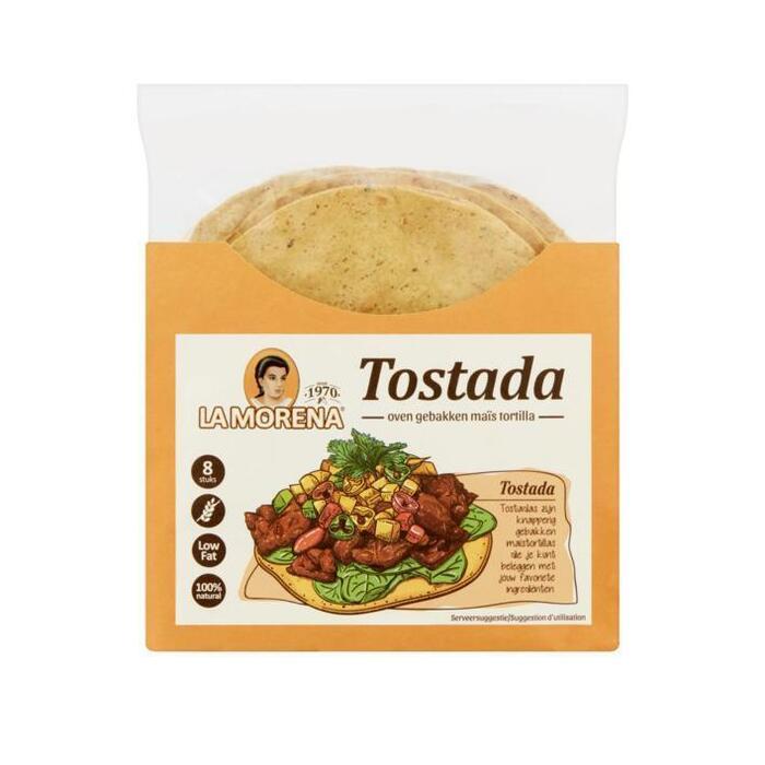 La Morena Tostada's van maïs (100g)