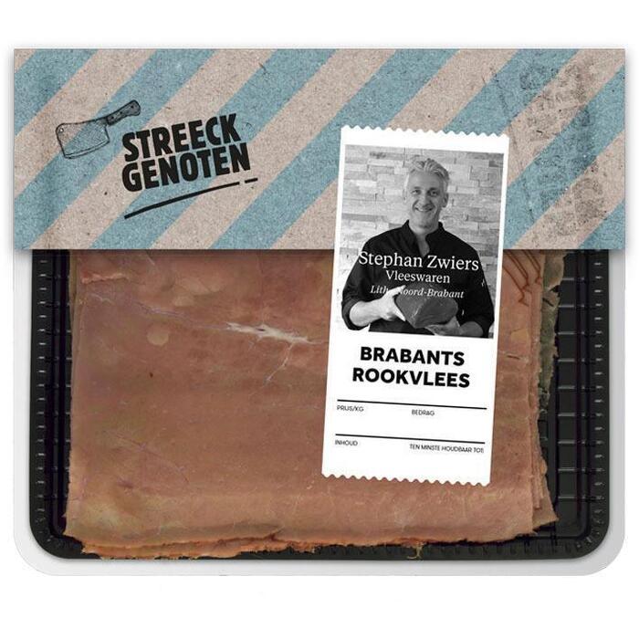 Streeckgenoten Brabants rookvlees (100g)