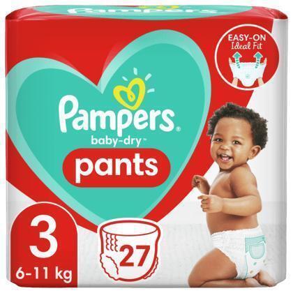 Pampers Baby dry pants keysize maat 3