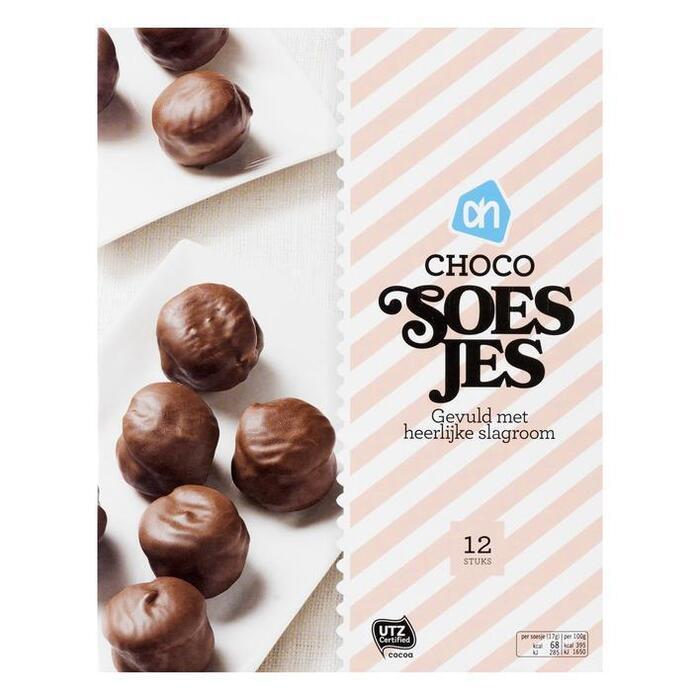 Mini moorkopsoesjes chocolade