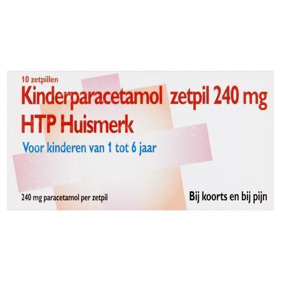 Paracetamol zetpil 240 mg.