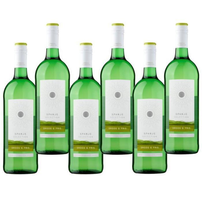 Jumbo Selection - Witte Wijn Droog & Fris - 6 x 1L (1L)